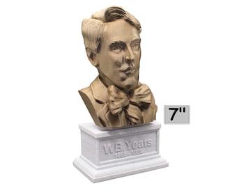 W.B. Yeats Irish Poet, Dramatist, and Prose Writer 7 inch Bust