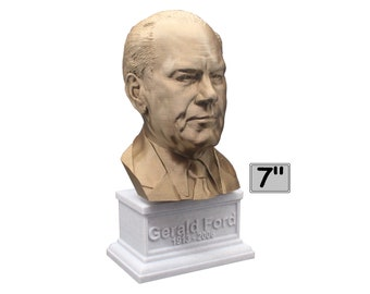 Gerald Ford USA President #38 7 inch Bust