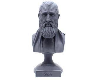 Zeno of Citium Hellenistic Stoic Philosopher 5 inch Bust