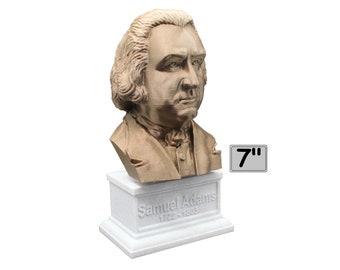 Samuel Adams American Statesman and USA Founding Father 7 inch Bust