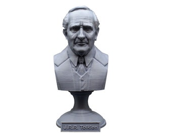 J.R.R. Tolkien Famous English Writer 5 inch Bust