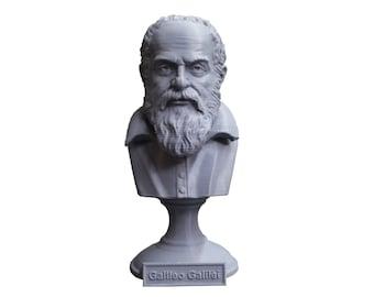Galileo Galilei, Italian Polymath, Astronomer, Physicist, and Engineer 5 Inch Bust