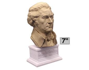Alexander Hamilton Founding Father 7 inch Bust