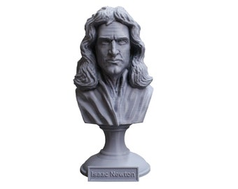 Sir Isaac Newton Famous English Mathematician, Physicist and Astronomer 5 Inch Bust