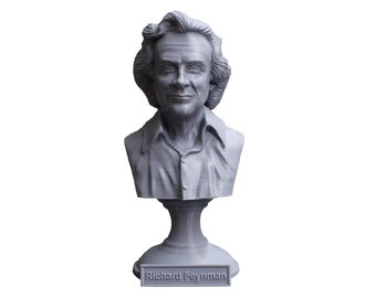 Richard Feynman Famous American Physicist and Mathematician 5 Inch Bust