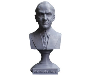 Calvin Coolidge USA President #30 5 inch Bust