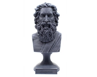 Diogenes The Cynic Greek Philosopher 5 inch Bust