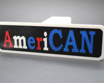 AmeriCAN 2 Inch Hitch Plug for car, truck, SUV, or boat