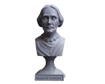 Susan B. Anthony American Social Reformer and Women's Rights Activist 5 Inch Bust