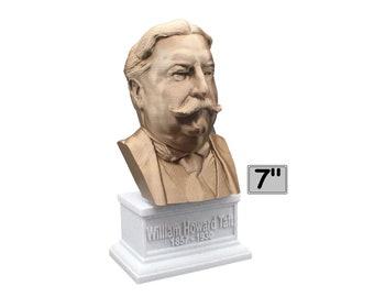 William Howard Taft USA President #27 7 inch Bust