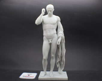 Marcellus as Hermes Logios FDM 3D Printed Statue from Royal Cast Collection at SMK in Denmark