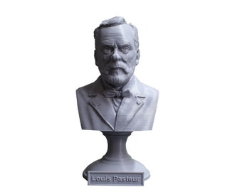 Louis Pasteur French Biologist, Microbiologist, and Chemist 5 Inch Bust