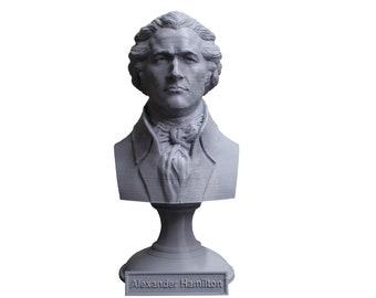 Alexander Hamilton Founding Father 5 Inch Bust