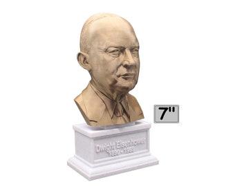 Dwight D. Eisenhower USA President #34 7 inch Bust