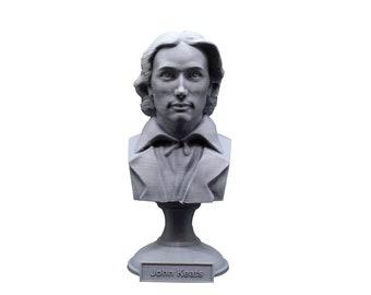 John Keats English Romantic Poet 5 inch Bust