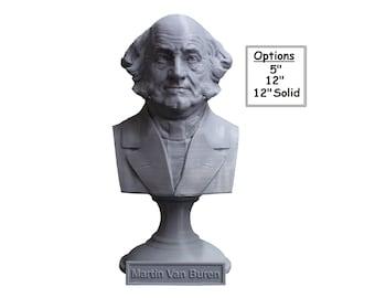 Martin Van Buren USA President #8 5 inch 3D Printed Bust
