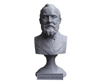 James A. Garfield USA President #20 5 inch Bust