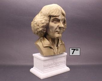Nicolaus Copernicus Ranaissance-era Polymath 7 inch 3D Printed Bust
