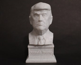 Donald Trump USA President #45 7 inch 3D Printed Bust