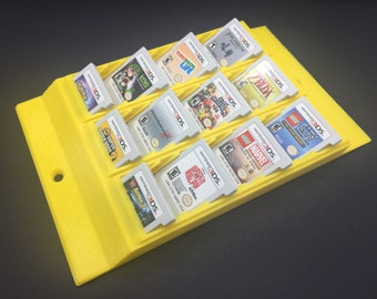 Display Rack for Nintendo DS and 3DS games that holds 30 games