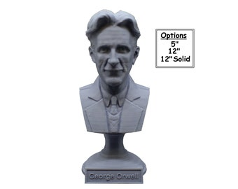 George Orwell Famous English Novelist 3D Printed Bust
