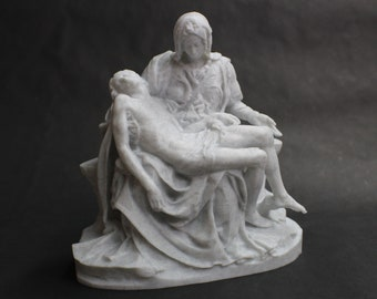 Michelangelo's La Pieta FDM 3D Printed Statue from Royal Cast Collection at SMK in Denmark