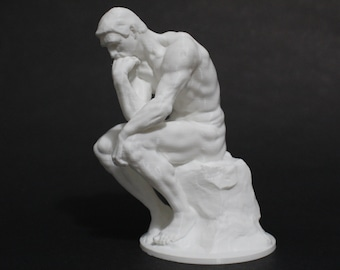 "Rodin's ""The Thinker"" 3D Printed Sculpture"