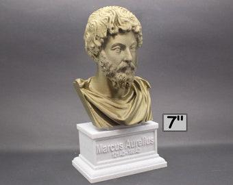 Marcus Aurelius Roman Emperor and Philosopher 7 inch 3D Printed Bust