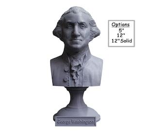 George Washington USA President #1 5 inch 3D Printed Bust