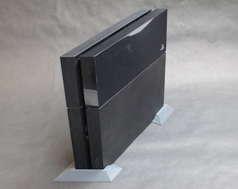 Space-Saving Low Profile Vertical Stands that fit Playstation 4 PS4