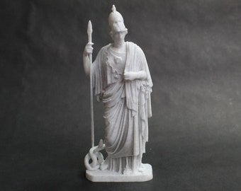 Athena Pallas Giustiniani FDM 3D Printed Statue from Royal Cast Collection at SMK in Denmark