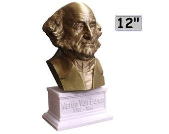 Martin Van Buren USA President #8 12 inch 2 color 3D Printed Bust