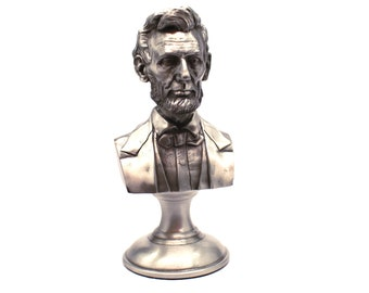 "Abraham Lincoln Limited Edition 5"" Diecast Pewter Bust"