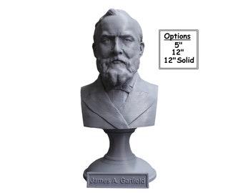 James A. Garfield USA President #20 5 inch 3D Printed Bust