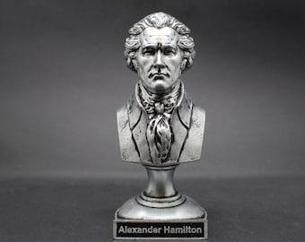 Alexander Hamilton Founding Father  5 inch Resin Bust