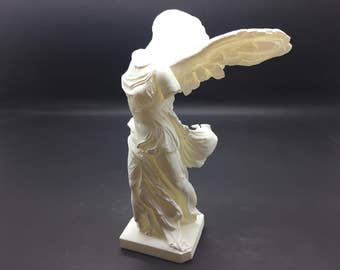 Detailed Winged Victory of  Samothrace (Nike of Samothrace) Resin 3D Printed Statue from the Louvre