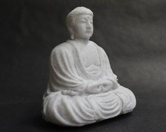Buddha in Kamakura, Japan Monument Replica (Taiizan Kotokuin Shojosenji, Kōtoku-in)