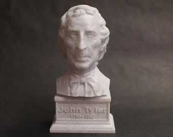 John Taylor USA President #10 7 inch 3D Printed Bust