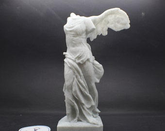 Large Winged Victory of  Samothrace (Nike of Samothrace) 9in FDM 3D Printed Statue from the Louvre
