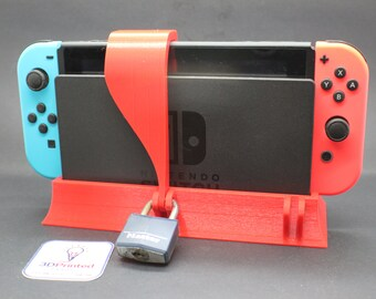 Nintendo Switch Game Console Safe for Parental Control or Tournaments