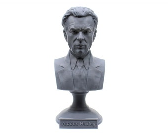 Aldous Huxley Famous English Writer and Philosopher 5 inch Bust