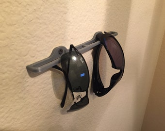 Sunglass Rack / Shelf to hang up sunglasses