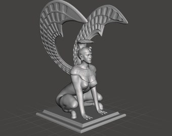 Southern Oracle sphinx inspired by Neverending Story