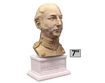 "Archibald Henderson USMC ""Grand old Man of the Marine Corps"" Commandant 7 inch Bust"