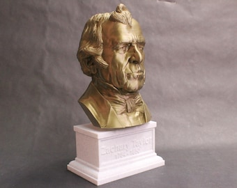 Zachary Taylor #12 12 inch 2 color 3D Printed Bust