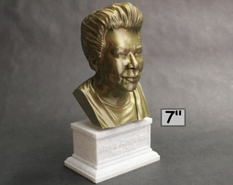 Maya Angelou American Poet, Singer, Memoirist, and Civil Rights Activist 7 inch 3D Printed Bust