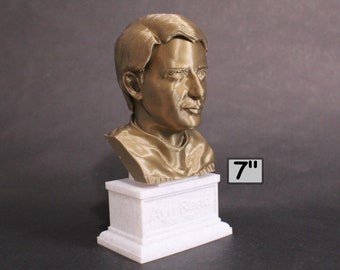 Ayn Rand, American Writer and Philosopher 7 inch 3D Printed Bust