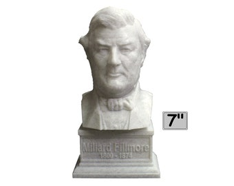Millard Fillmore USA President #13 7 inch 3D Printed Bust