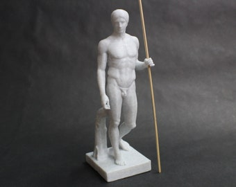 DoryPhoros of Polykleitos (the Spear Bearer) FDM 3D Printed Statue from Royal Cast Collection at SMK in Denmark
