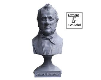 James Buchanan USA President #15 5 inch 3D Printed Bust